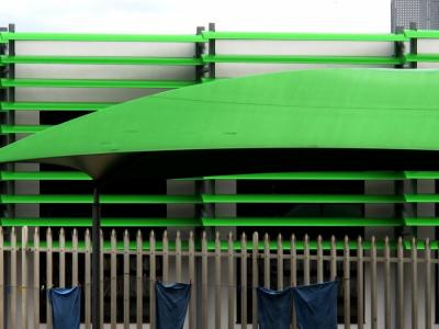 Green & lines [July 2012]