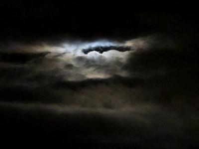 Moon clouds III [July 2012]